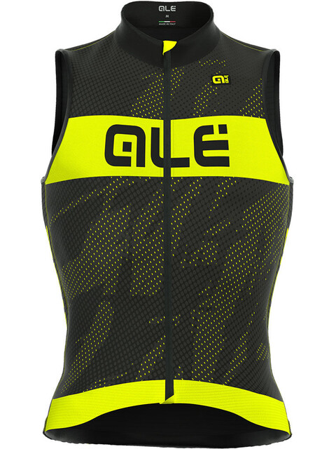 Alé Cycling Triathlon Record Sleeveless Tri Top Men black-fluo yellow